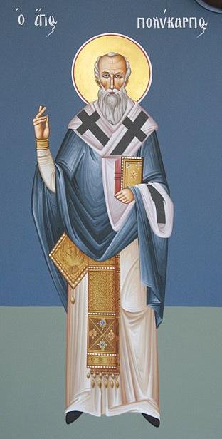 San Policarpo dans immagini sacre polycarp