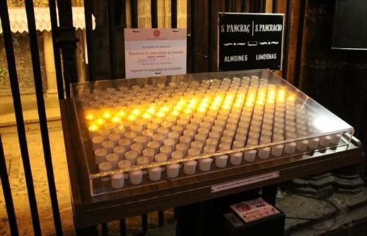 u201cShall we call down fire in judgement?u201d & Catholic Bucket List #3: Light a votive candle | Restless Pilgrim