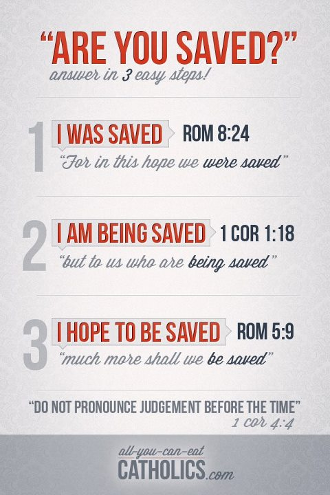 what are you saved from