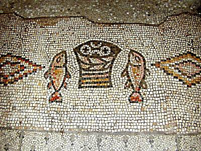loaves and fishes mosaic