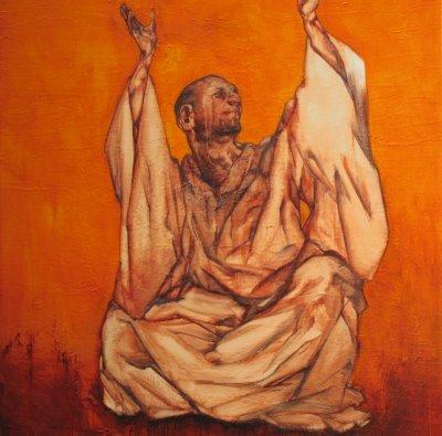 Desert Father, praising God dans immagini sacre praise