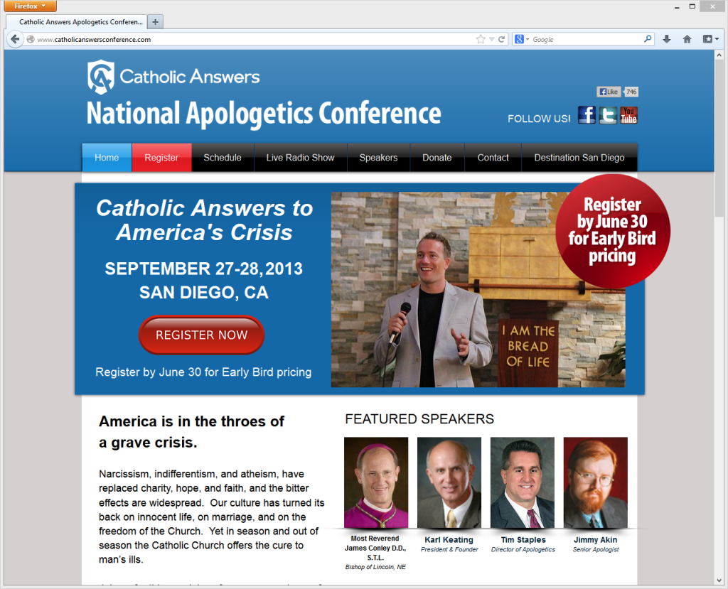 Catholic answers website
