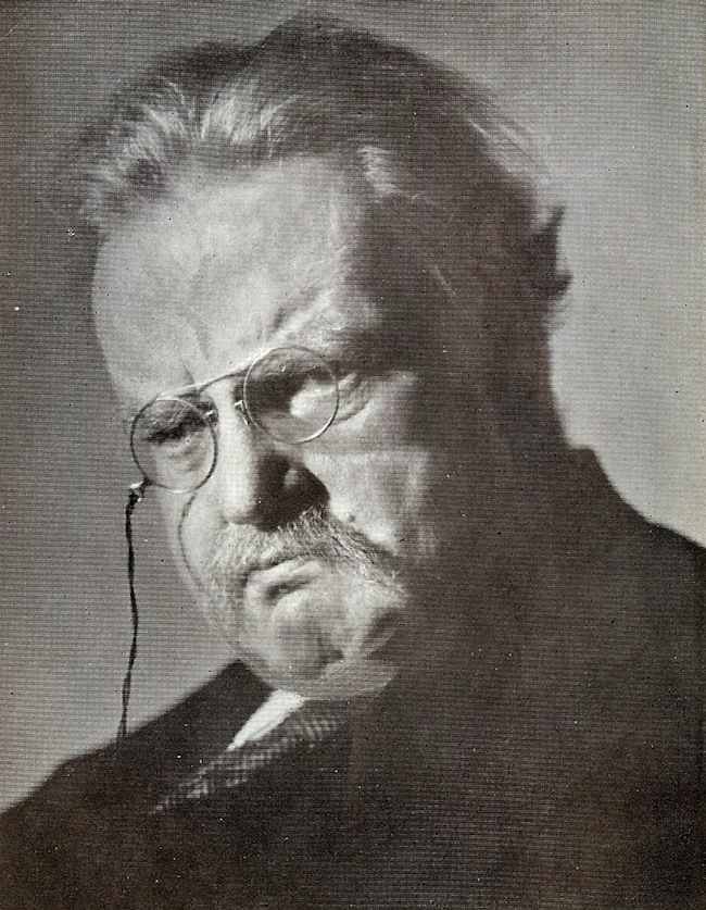 Chesterton Portrait