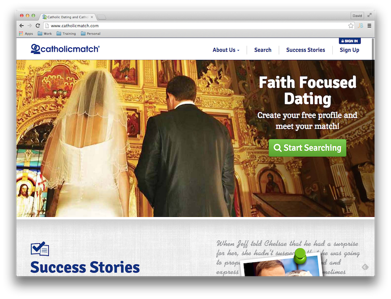 Online catholic dating in Australia