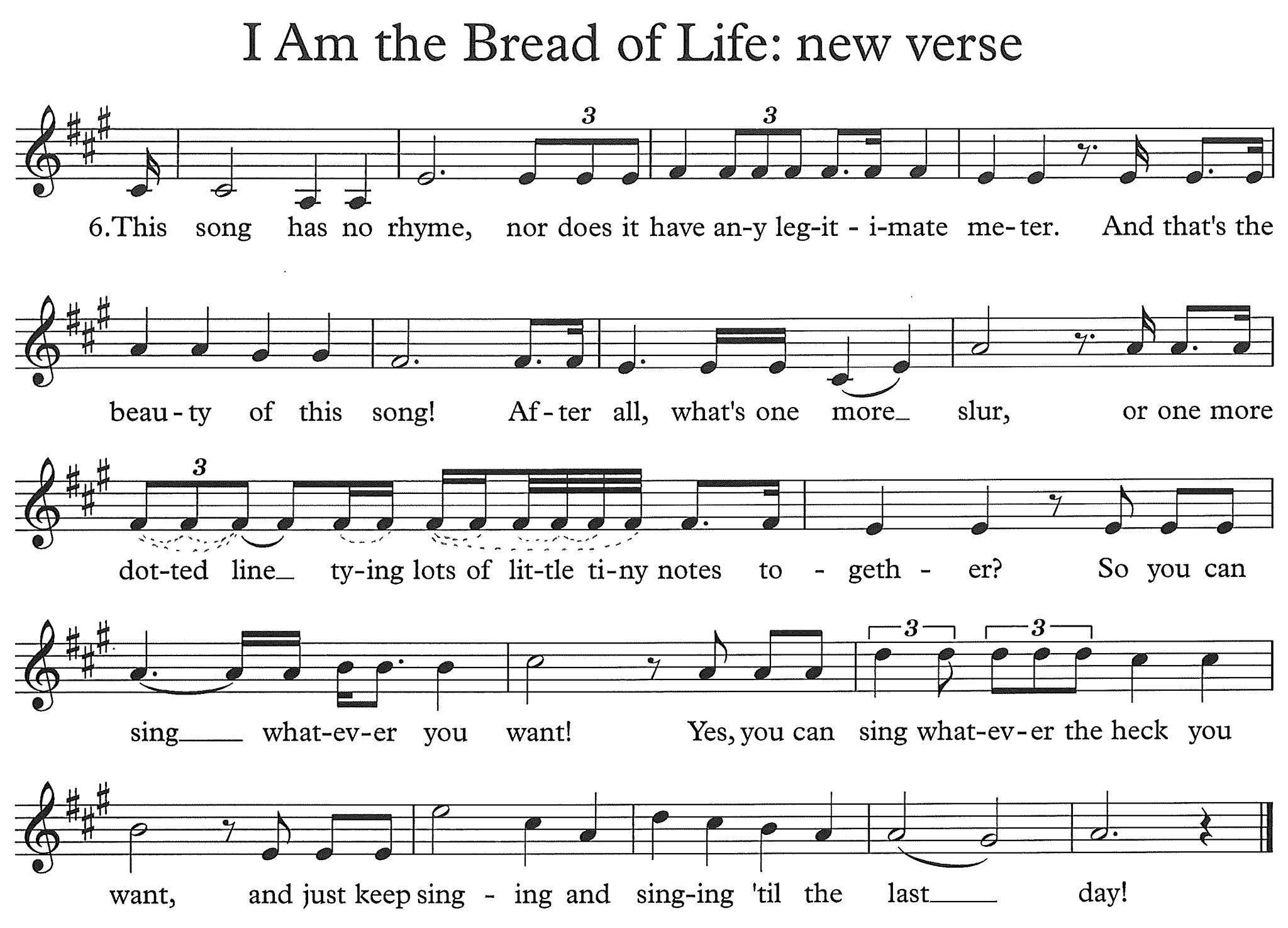 Bread of Life Verse