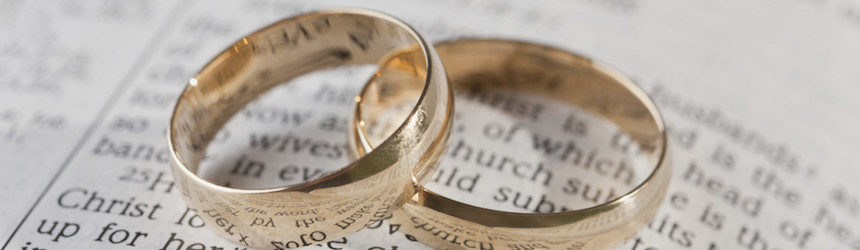 Catholic wedding rings