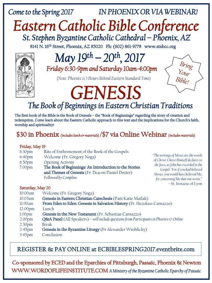 Eastern Catholic Bible Conference