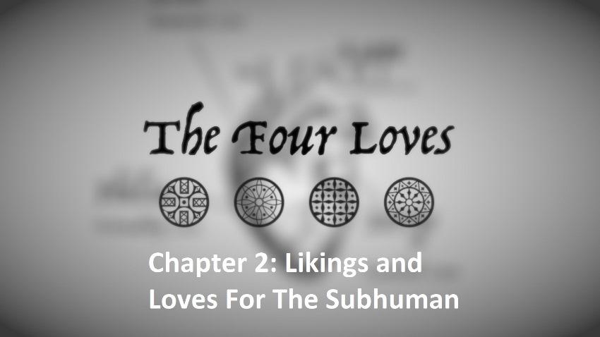 Cs lewis the four loves summary
